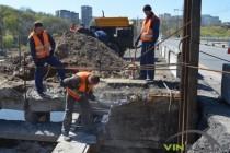 Місяць ремонту Київського мосту: що вже встигли зробити (Фото+Відео)