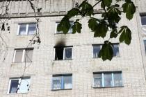 У Вінниці на Келецькій горіла багатоповерхівка (Фото)