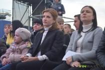 Фонтан Рошен відкриватиме перша пані України