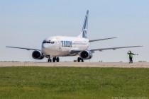 """У аеропорту """"Вінниця"""" зупинилися румунський Airbus та Boeing 737 (Фото)"""