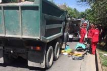 Смертельна ДТП: у Вінниці пішохід потрапив під колеса вантажівки (Фото+Відео)