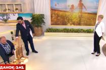 Художник-рекордсмен з Вінниці завітав до Сніданку з 1+1 (Відео)