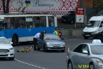 Перший пішов: на площі Гагаріна сталась ДТП