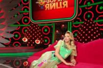 """Зіркова блондинка з Вінниччини розсекретила зйомки нової програми на """"1+1"""" (Відео)"""