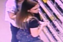У Вінниці розшукують двох дівчат, що викрали косметику з магазину (Фото)