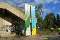 У Вінниці з'явилася нова розвага для активного відпочинку (Фото+Відео)
