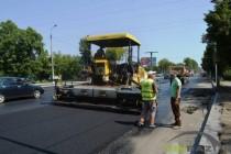 На виїзді з Вінниці капітально ремонтують дорогу (Фото+Відео)