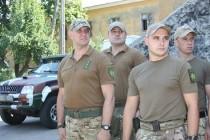 """Головний полісмен області поїхав в зону АТО до батальйону """"Вінниця"""" (Фото)"""