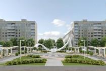 Архітектори представили новий проект площі на проспекті Космонавтів, де стоятиме літак (Фото)