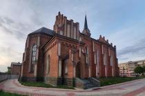 Вид з висоти: готичний костел на Вінниччині у минулому був визнаний найбільшим в Європі  (Відео)