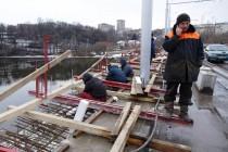 Київський міст відкрили, але ремонт триває далі (Фото+Відео)