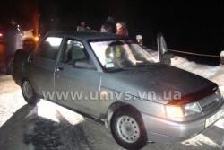 Авто, викрадене у столиці, зупинили вінницькі інспектори ДПС