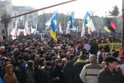 Більше тисячі вінничан сьогодні зібралися на Народному Віче