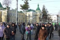 Мітингувальників пустили у військову частину, щоб довести, що вінницькі солдати не їдуть на Київ