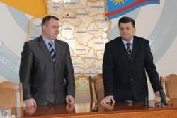 Анатолій Олійник офіційно представив заступника голови облдержадміністрації з фінансово-економічних питань