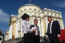 До Вінниці приїхав керівник Аграрної партії України (Фото)