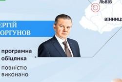Скільки передвиборних обіцянок цілком виконав мері Вінниці Сергій Моргунов?