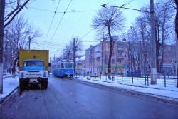 У Вінниці з колії зійшов вагон трамваю
