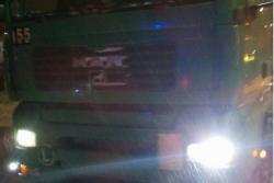 У Вінниці патрульні зупинили водія, що перевозив вантажівкою спирт (Фото)