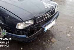 У Вінниці п'яний винуватець ДТП прикинувся пасажиром власної автівки (Фото)
