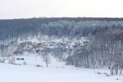 Засніжений Сабарів нагадує зимову казку (Фото)