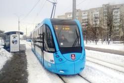 У Вінниці на маршрут вийшов новий трамвай VinWay - короткий (Фото)