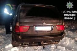 У Вінниці нетверезий водій на джипі влаштував перегони з копами (Фото)