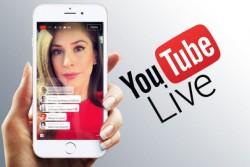 YouTube запускает прямые трансляции с мобильных устройств
