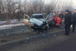 На Вінниччині зіткнулись «ВАЗ Калина» та «КАМАЗ». Загинуло двоє людей (Фото)