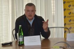 Гриценко у Вінниці розповів про майбутнє велике об'єднання та зіпсовані стосунки між Гройсманом та Порошенком (Фото+Відео)