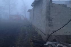 На Вінниччині спалахнув столярний цех (Фото)
