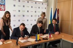 Вінниччина та Ліберецький край Чеської Республіки підписали договір про співпрацю