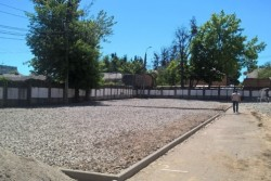 У Вінниці на території трьох шкіл облаштовують дитячі та спортивні майданчики (Фото)