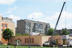 У Вінниці утеплюють дах однієї з шкіл (Фото)
