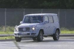 В сеть попало видео с испытаний Mercedes-Benz G-Class