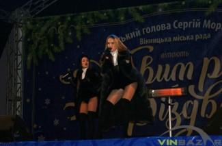 Закриття новорічної ялинки 2017 у Вінниці (Фото+Відео)