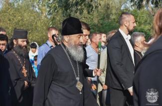 Глава УПЦ МП Онуфрій очолив хресну ходу до Йосафатової долини на Вінниччині (Фото)