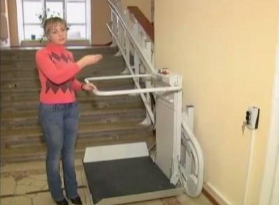 У бібліотеці Тімірязєва встановлюють ліфт для людей на візках