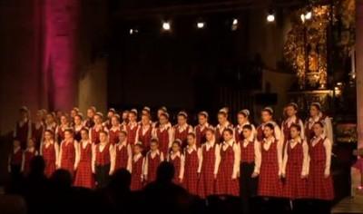 Виступ вінницького дитячого хору у Польщі