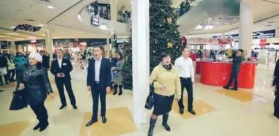 В торговому центрі «Sky Park» пройшов флешмоб