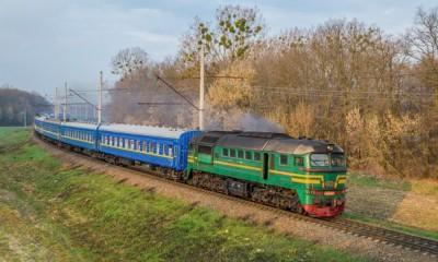 У Вінницькій області зійшов зколії пасажирський потяг