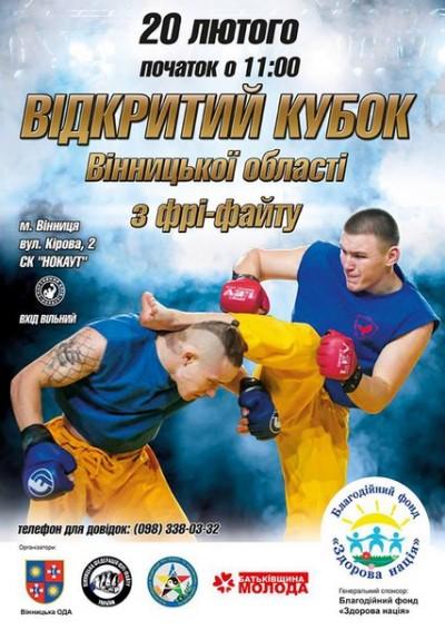 Вінничани боротимуться за Кубок області з фрі-файту