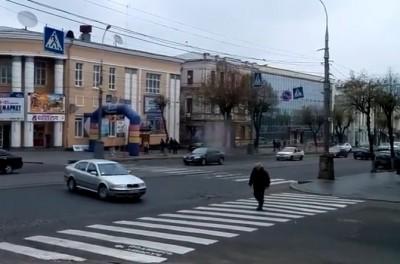Сніговий циклон дістався до Вінниці (Відео)