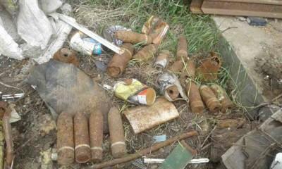 У Жмеринці знешкодили 23 артилерійських снаряди