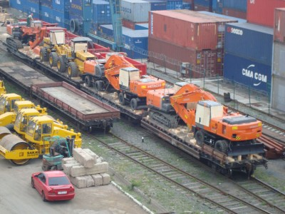 Транспортировка негабаритного груза по железной дороге
