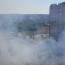 """В мікрорайоні """"Поділля"""" пожежа – багатоповерхівки в диму"""