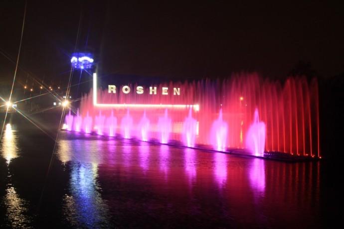 Вінницький світло-музичного фонтан Roshen запустять 27 квітня