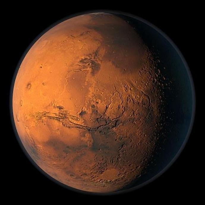 Марс был богат кислородом 4 миллиарда лет назад, выяснили ученые