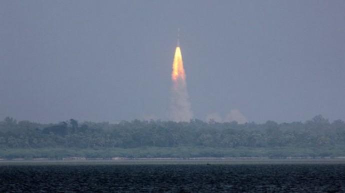 Индийская ракета полетела на Марс (Видео)
