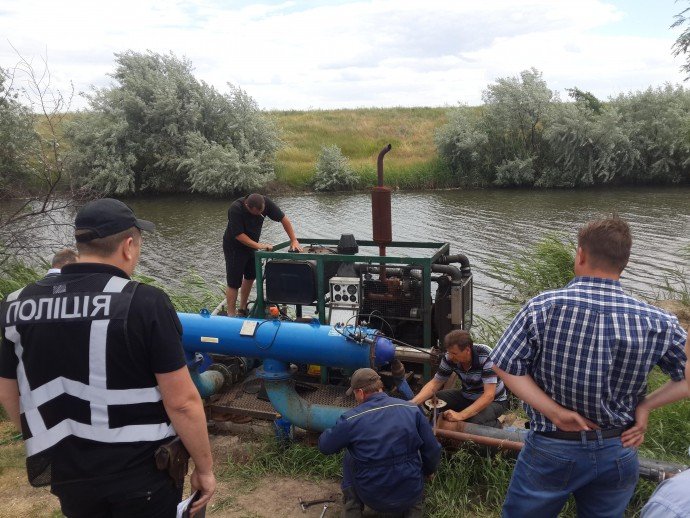 На Вінниччині виявили факт нелегального забору води